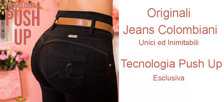 Jeans colombiani push up